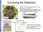 surveying the detectors