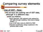 comparing survey elements3