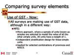 comparing survey elements5