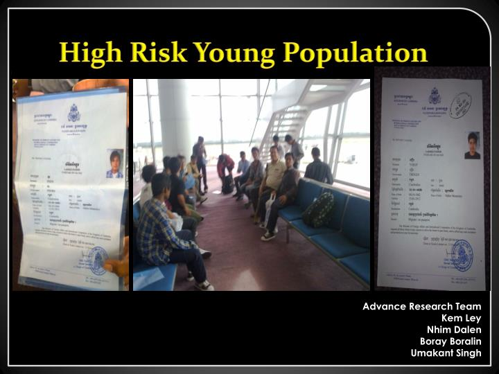 High Risk Young Population