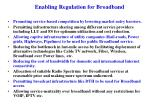 enabling regulation for broadband