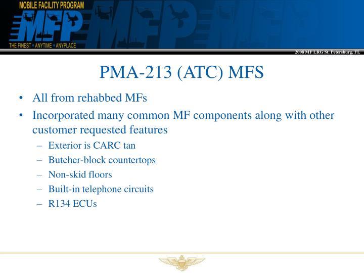 PMA-213 (ATC) MFS