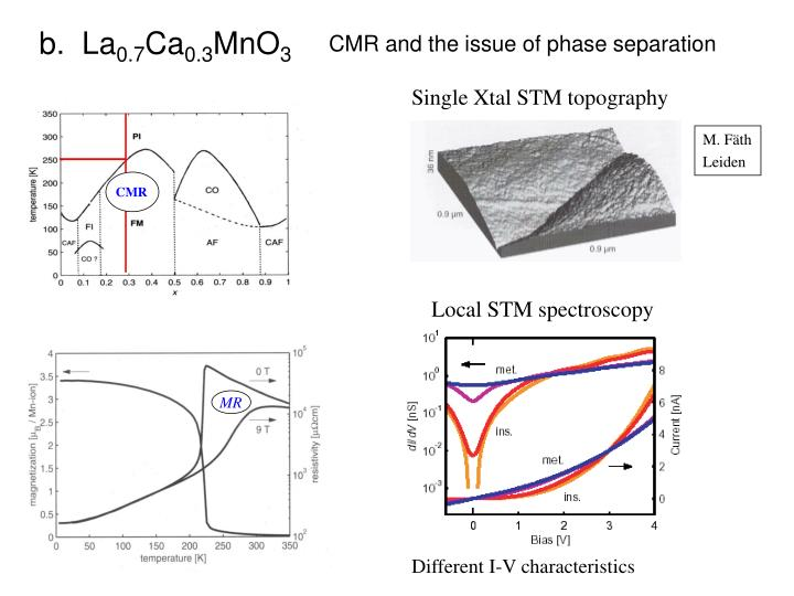 Single Xtal STM topography