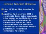 sistema tribut rio brasileiro42