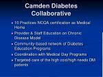 camden diabetes collaborative