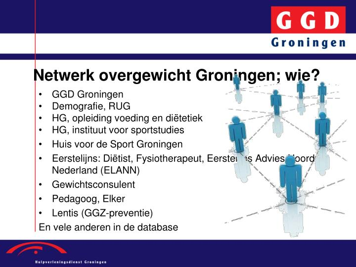 Netwerk overgewicht Groningen; wie?