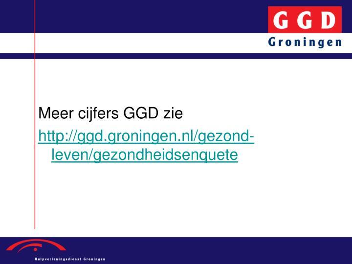 Meer cijfers GGD zie