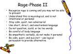 rage phase ii