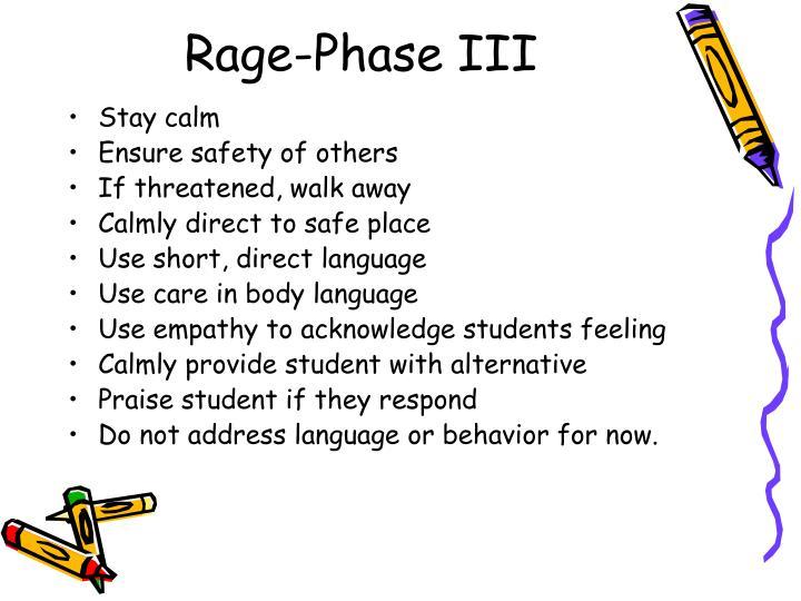 Rage-Phase III