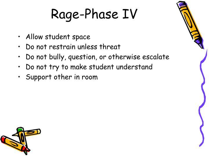Rage-Phase IV