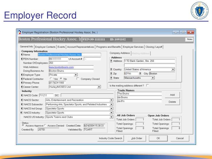 Employer Record