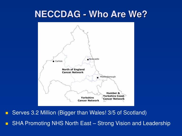 NECCDAG - Who Are We?