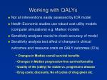 working with qalys1