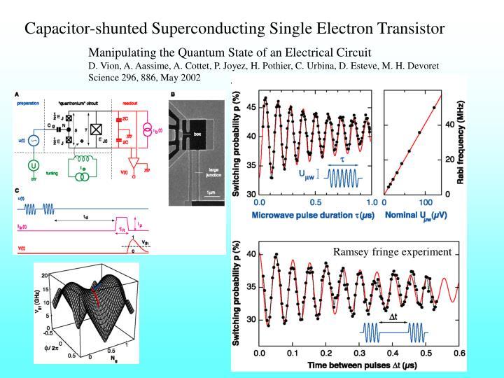Capacitor-shunted Superconducting Single Electron Transistor