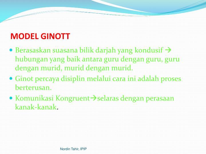 MODEL GINOTT