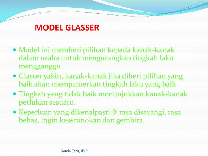 MODEL GLASSER