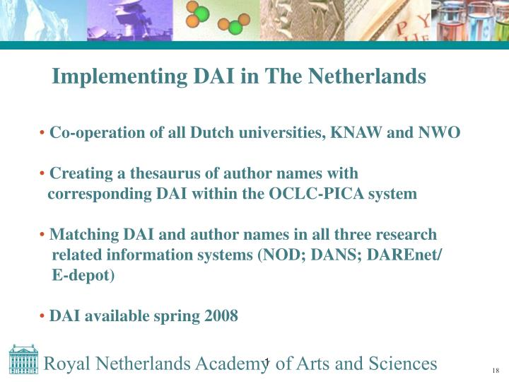 Implementing DAI in The Netherlands