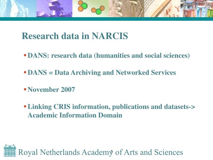 Research data in NARCIS