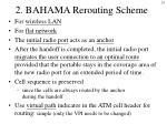 2 bahama rerouting scheme