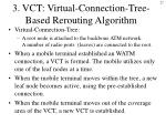 3 vct virtual connection tree based rerouting algorithm