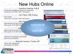 new hubs online