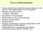 ways to obtain information