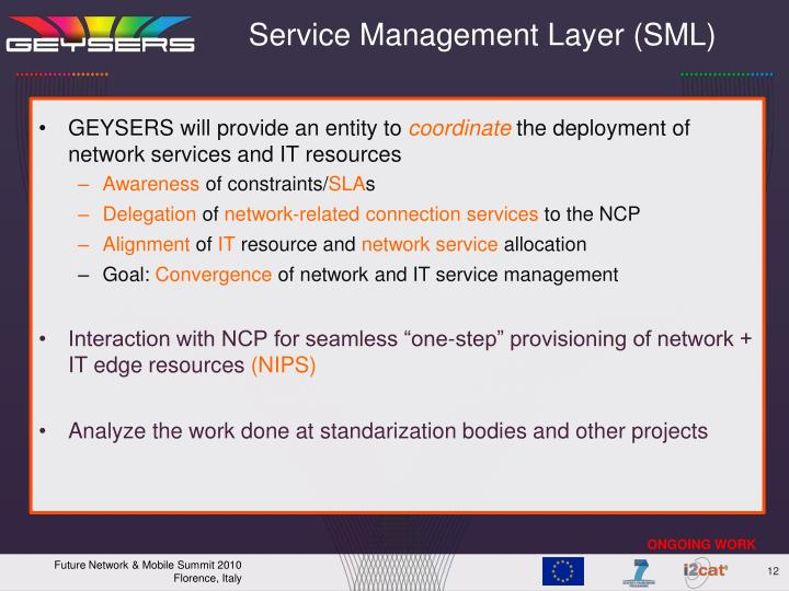 Service Management Layer (SML)