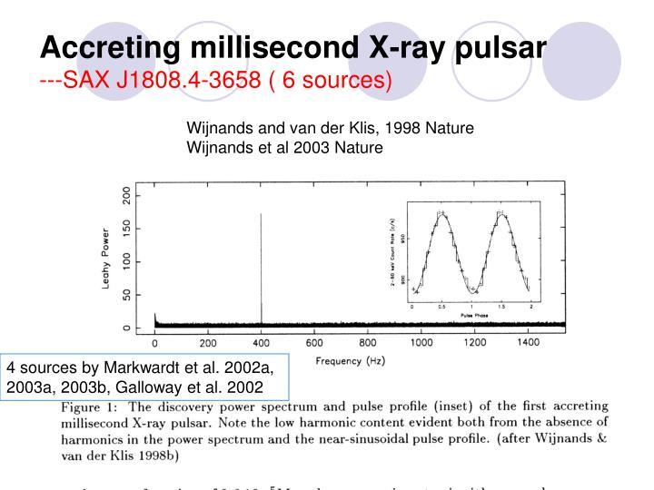 Accreting millisecond X-ray pulsar
