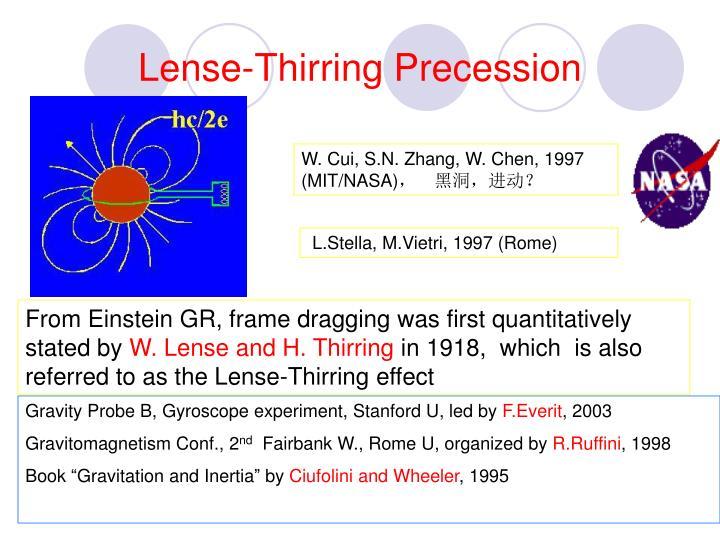 Lense-Thirring Precession