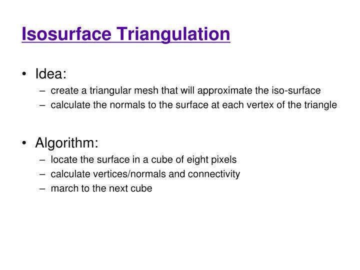 Isosurface Triangulation