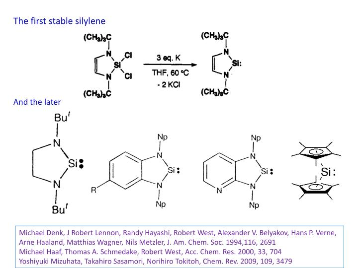 The first stable silylene