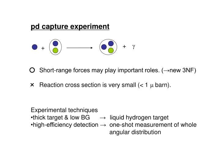 pd capture experiment