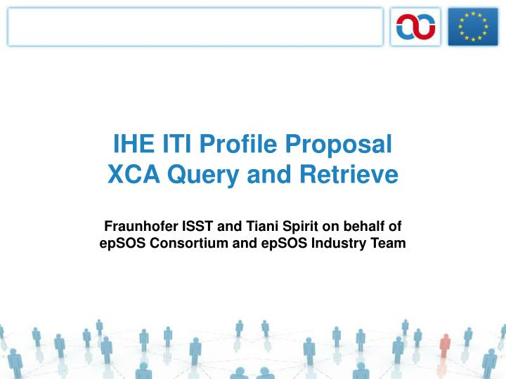ihe iti profile proposal xca query and retrieve