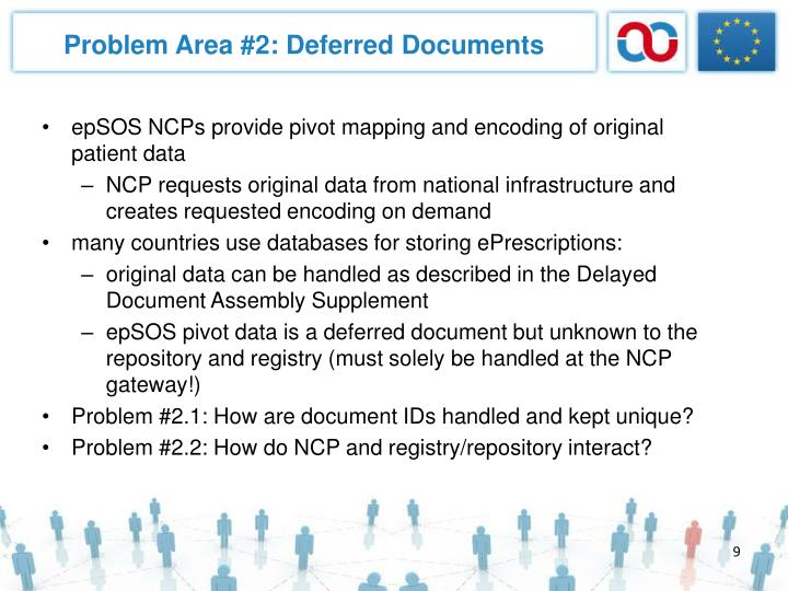 Problem Area #2: Deferred Documents