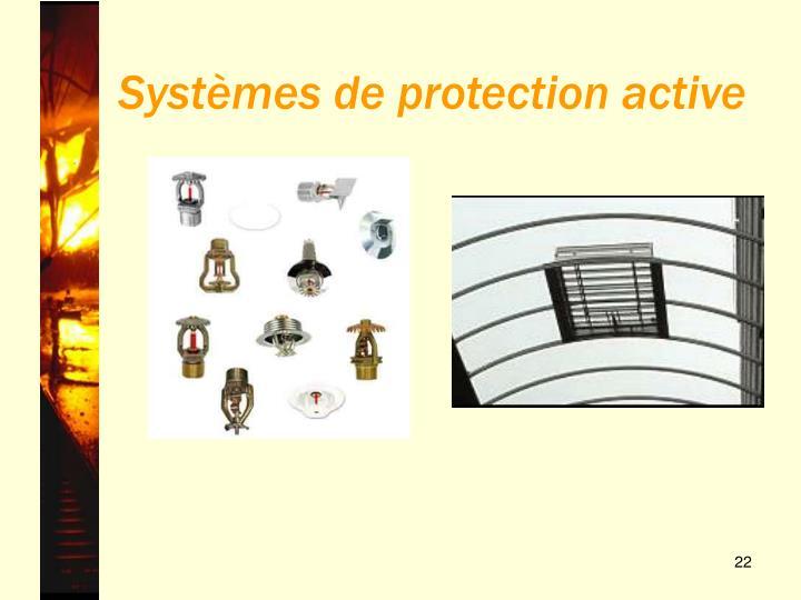 Systèmes de protection active