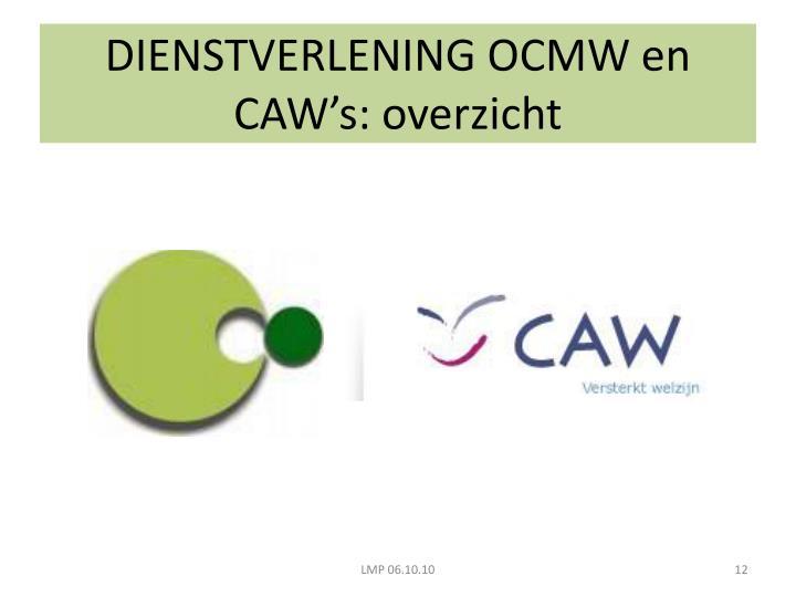 DIENSTVERLENING OCMW en