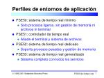 perfiles de entornos de aplicaci n