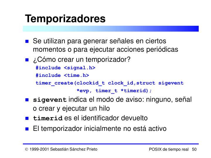 Temporizadores