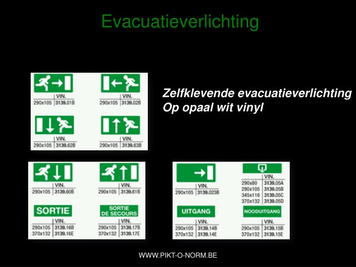 Evacuatieverlichting
