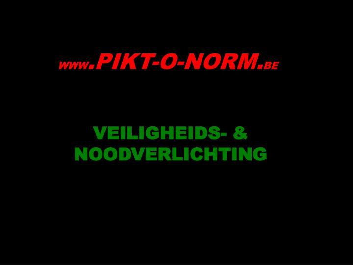 VEILIGHEIDS- & NOODVERLICHTING