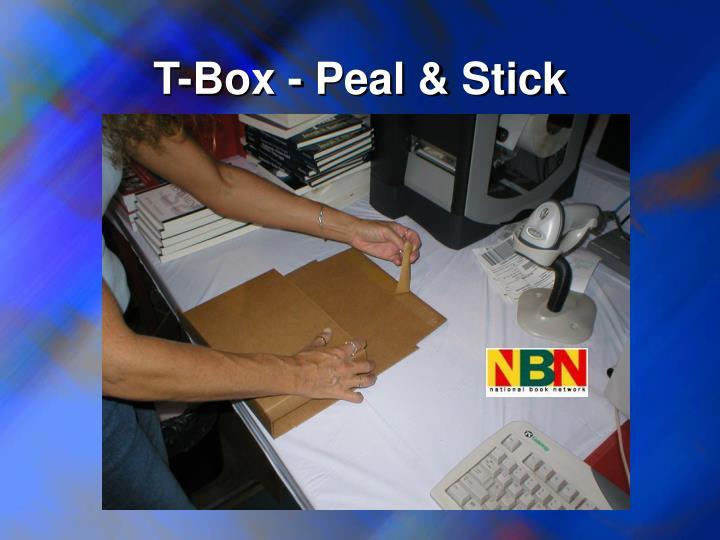 T-Box - Peal & Stick