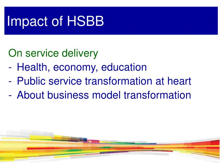 Impact of HSBB