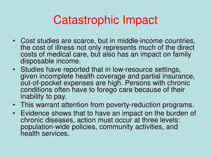 Catastrophic Impact