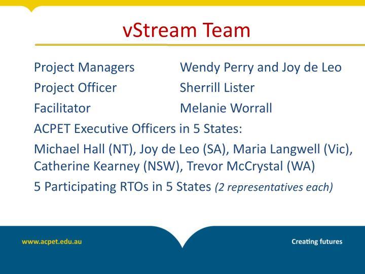 vStream Team