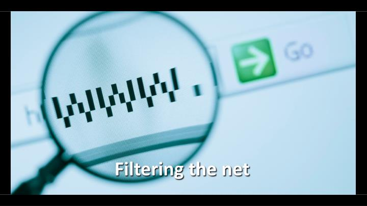 Filtering the net