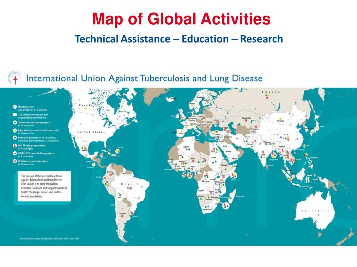 Map of Global Activities