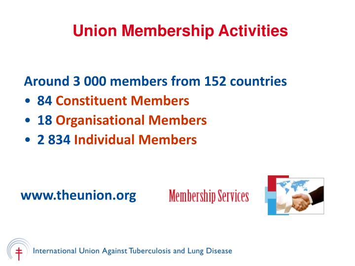 Union Membership Activities