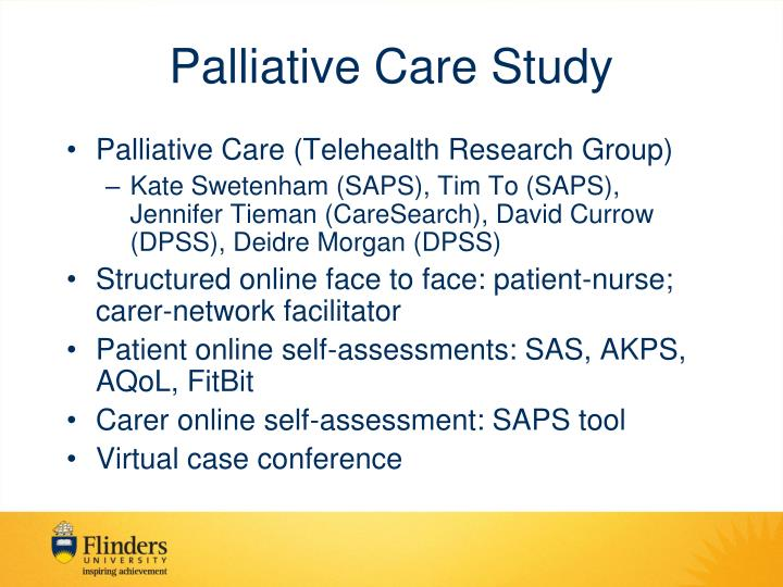 Palliative Care Study