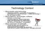 technology context