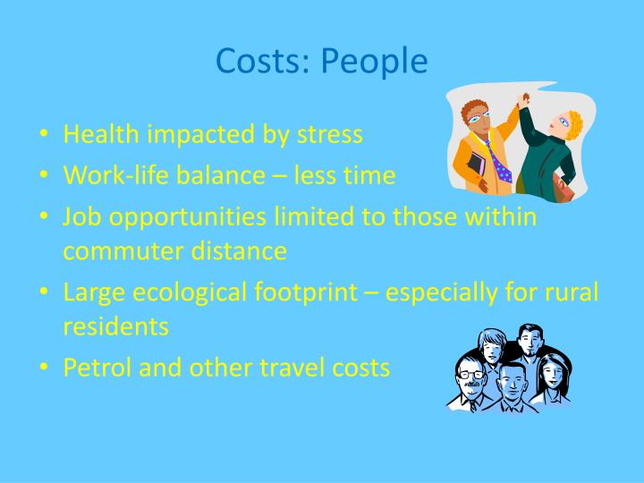 Costs people